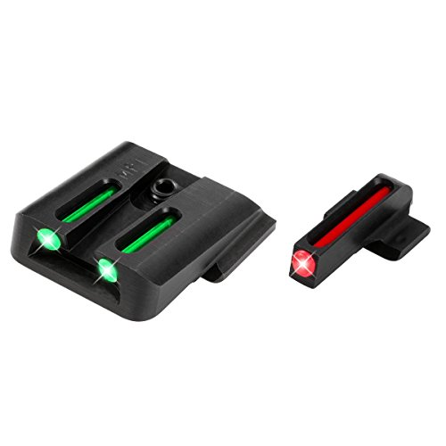 Fiber Optic Handgun Sight Set - S&W M&P (Gun Fiber Sights Optic)