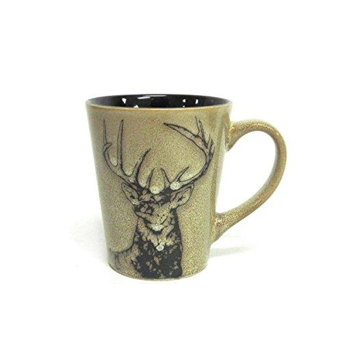 North America Woodlands Mule Deer Stoneware Mug