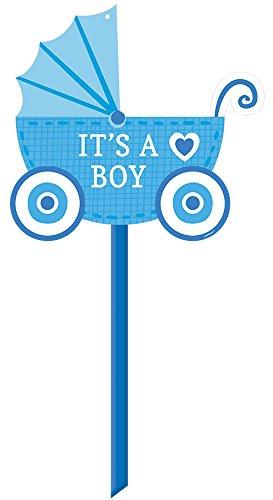 Amscan 190434 Baby Boy Generic Yard Sign, 14