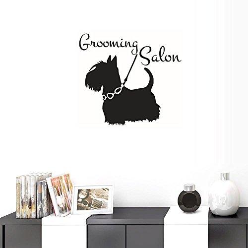 - BIBITIME Pet Hospital Foster Home Window Poster Vinyl Wall Decal Sayings Grooming Salon Pets Dog Decor Sticker for Children Bedroom Nursery Kids Room Decors Home Art Murals