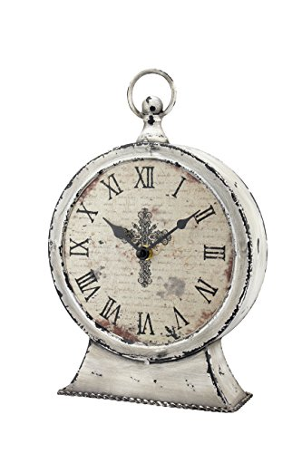 Stonebriar Large 12 Inch Decorative Table Top Clock