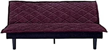 DHP Lancaster Tufted Upholstered Futon