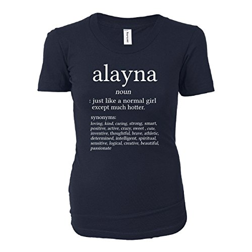 Alayna Name Meaning. Dictionary Format. Funny Gift - Ladies T-shirt