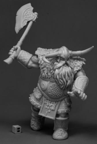 Reaper Miniatures Frost Giant Warrior (1H Axe)77543 Bones Unpainted RPG Figure - Giant Axe Toy