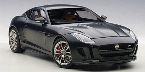 Price comparison product image 2015 Jaguar F-Type R Coupe Matt Black 1 / 18 by Autoart 73652