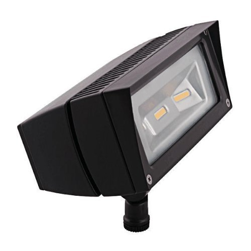 FFLED18/PC Rab Lighting FUTURE FLOOD 18W COOL LED + 120V PC BRONZE