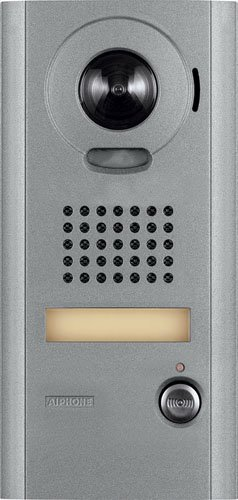 Aiphone Corporation IS-DV Video Door Station for IS Series, Local Hardwired Video Intercom, Aluminum Die Cast, 8-1/2' x 4-3/16' x 1-1/8' 8-1/2 x 4-3/16 x 1-1/8