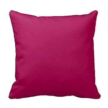 Solid Himbeer Rot Rosa Trend Hintergrundfarbe Kissen 2 Er Set