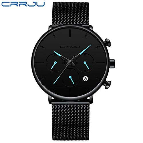LUXISDE Women's Wrist Watches ABC 2268 New Men's Hot Casual Personality Watch Fashion Popular Men's Watch 53 E by LUXISDE (Image #3)