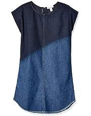 فستان ايلا موس النسائي ذو صبغة عميقة كبيرة للفتيات