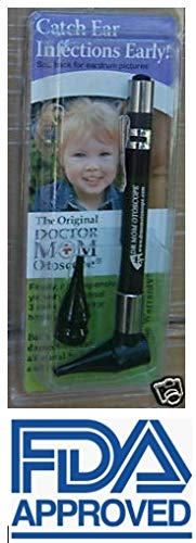 Original Doctor Mom Otoscope, otoscopes - Clamshell kit