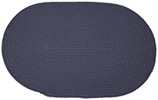product image for Oval Braided Rug - Williamsburg Blue - 3'x5'