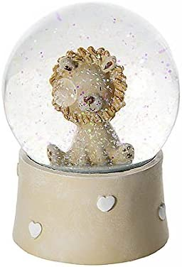 Mousehouse Gifts Lion Snow Globe Music Box for Kids Baby Boys and Girls