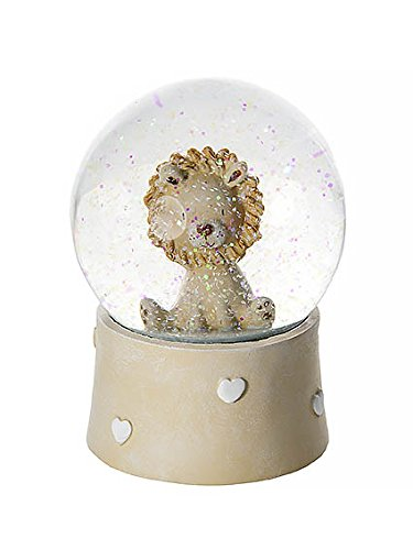 - Mousehouse Gifts Lion Snow Globe Music Box Kids Baby Boys Girls