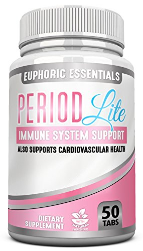 Period Lite Heavy period relief reduces heavy menstruations, heavy period flow with a proven Bioflavonoids and key vitamins. Reduces menstrual cramps and irregularities. Immune system support.