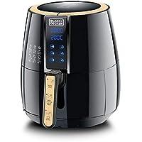 Black+Decker 4 Liter Digital Air Fryer Aerofry, Black - Af400-B5