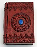 Raven Blackwood Imports Fortune Telling Toy Tarot Card Box Storage Blue Gemstone Eye of Power Book With Hinged Cover