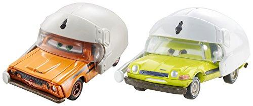 Disney/Pixar Cars Grem with Helmet and Acer with Helmet Vehicle 2-pack (Cars 2 Grem)
