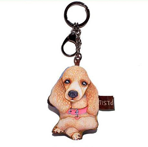 Sansukjai Key ring Key chain Poodle Fabric Dog lover High 10 - Locator Store Usa Tiffany