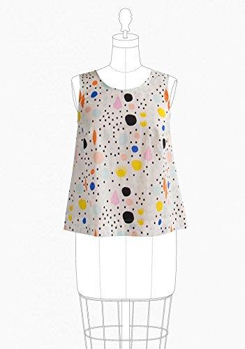 Grainline Studio Damen Schnittmuster 13002nbsp;Willow Tank Kleid ...