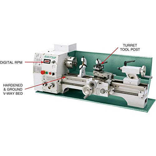 Grizzly G0752 10 by 22-Inch Variable Speed Lathe