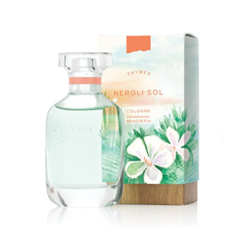 Thymes - Neroli Sol Cologne - Refreshing Coconut Fragrance for Men & Women - 1.75 -