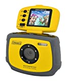 Coleman C4WP-Y Waterproof with 1 x Optical Zoom 1.8-inch LCD Screen Yellow