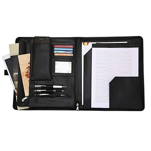 Portfolio Padfolio Leather Folder Organizer product image