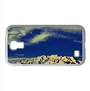 A View of Mt Timpanogos, Utah Watercolor style Cover Samsung Galaxy S4 I9500 Case (Utah Watercolor style Cover Samsung Galaxy S4 I9500 Case) by icecream design