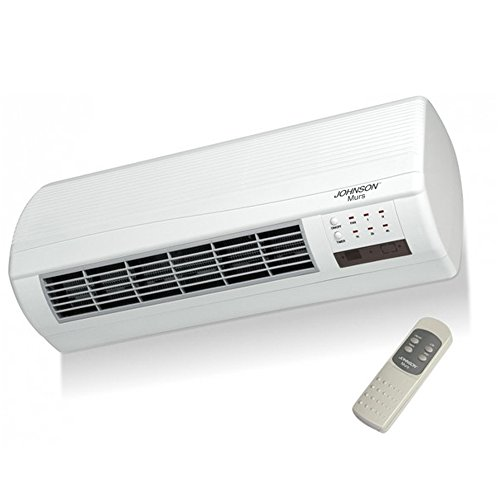 TERMOVENTILATORE A PARETE MURS 1000-2000W: Amazon.it: Fai da te