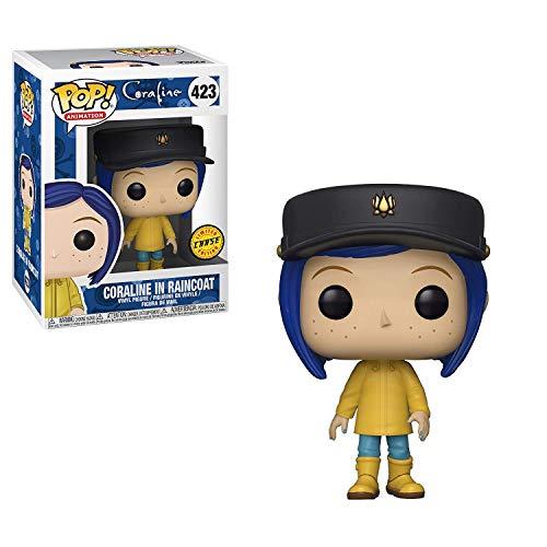 Coraline Funko Pop! Peliculas en Raincoat Pop! Figura de Vinilo Chase Vari