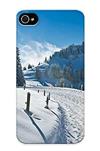 Markrebhood Case Cover For Iphone 4/4s - Retailer Packaging Sunny Winter Protective Case