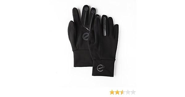 EGlove XTREME Black/Black (Medium) Touchscreen Fleece Gloves for Smartphone / Touchscreen Operation by eGlove: Amazon.es: Deportes y aire libre