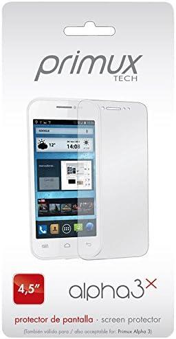 Primux Tech Alpha 3X - Protector de pantalla para Primux Alpha 3 ...