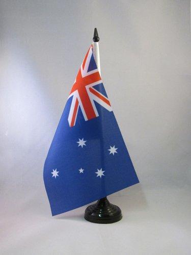 BANDIERA DA TAVOLO AUSTRALIA 21x14cm - PICCOLA BANDIERINA AUSTRALIANA 14 x 21 cm - AZ FLAG