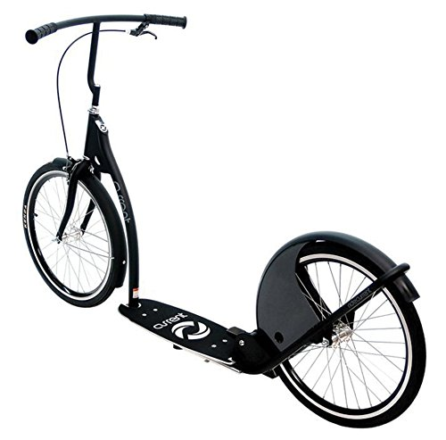 Current Coasters Kickbike Scooter for Teens and Adults, Australian Gray, 20'' Wheels