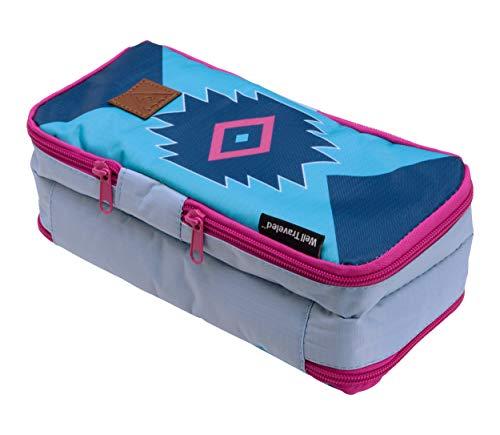 (Well Traveled Toiletry Bag - A Compact Dopp Kit & Bathroom Bag)