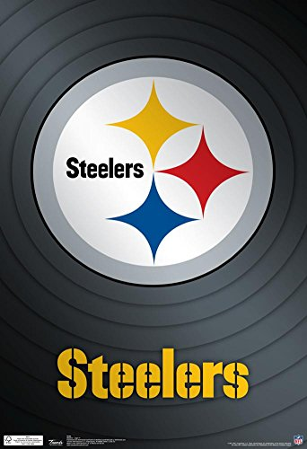 Pittsburgh Steelers Revolution - Pittsburgh Steelers Logo Nfl Sports Poster 13 x 19in