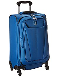 "Travelpro Luggage Maxlite 5 21"" Lightweight Expandable Carry-on Spinner Suitcase, Azure Blue"