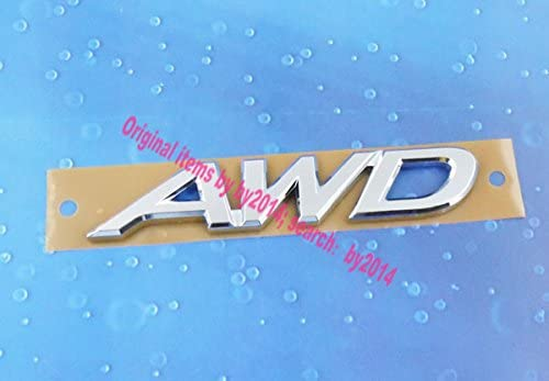 Auto car Chrome AWD for CX-5 trunk Emblem Badge Sticker 4agegarage® 4agegaragea9457