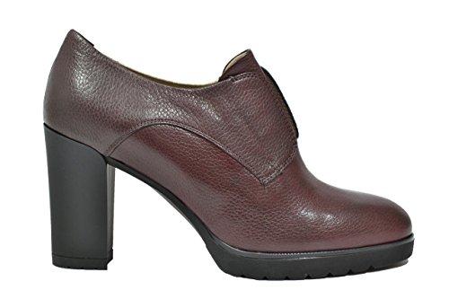 MELLUSO Women's Court Shoes Burgundy