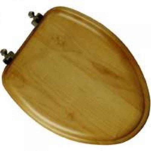 Mayfair 19601BR 378 Natural Reflections Wood Veneer Toilet S