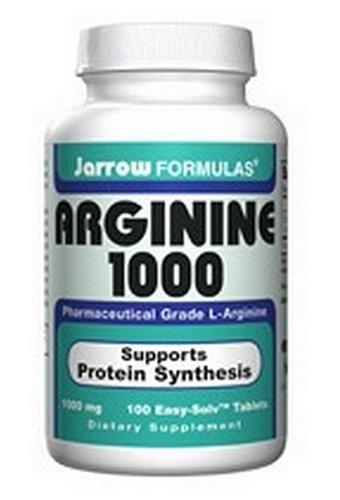 Jarrow Formulas L-Arginine 1000mg, 100 comprimés