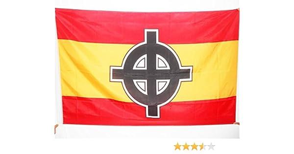 AZ FLAG Bandera de ESPAÑA Cruz Celta 150x90cm para Palo - Bandera ...
