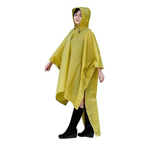 iYoukes Raincoat Waterproof Multipurpose Backpacking
