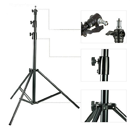 Heavy Duty Studio Light Stand 300CM 10ft AIR Cushioned top quality 3 METER large