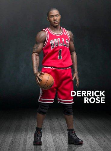 sports shoes c2581 ed7c4 Derrick Rose Chicago Bulls 1/6th Scale 12