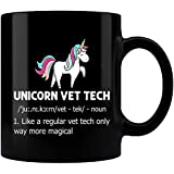 Unicorn Vet Tech Noun Mug, Vet Tech Mug, Vet Tech Week Gift, Funny Mug, Cute Mug, Cute Salon Mug, Vet Tech Graduation Gift, Coffee Mug