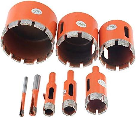 babyzhang 1 STÜCK Orange 6-100 mm 8 mm Marmoröffner Diamantbohrloch-Sägebohrer für Marmor Granit Ziegelfliesen Keramikbetonbohrung, 26 mm