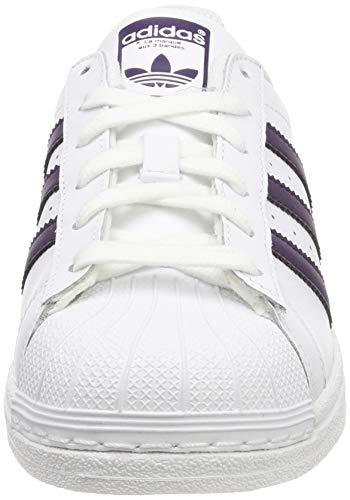 White ftwr Purple W legend Bianco Black Adidas Ftwr core Black Superstar BqRtUI
